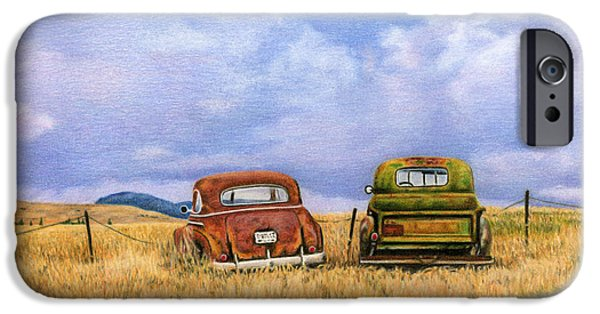 Beetle iPhone 6s Case - Two Old Friends  by Sarah Batalka