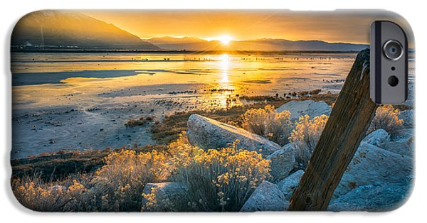 Old Post At The Great Salt Lake IPhone 6s Case