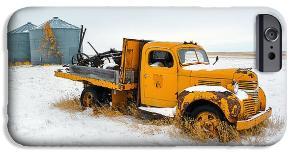 Truck iPhone 6s Case - Old Yellow by Todd Klassy
