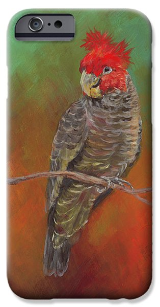 Cockatoo iPhone 6s Case - Ollie by Kirsty Rebecca