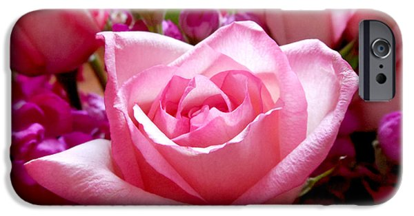 Ombre Pink Rose Bouquet IPhone 6s Case