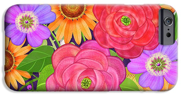 On The Bright Side - Flowers Of Faith IPhone 6s Case