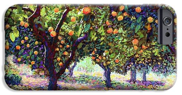 Universities iPhone 6s Case -  Orange Grove Of Citrus Fruit Trees by Jane Small