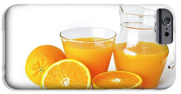 Orange Juice IPhone Case by Carlos Caetano