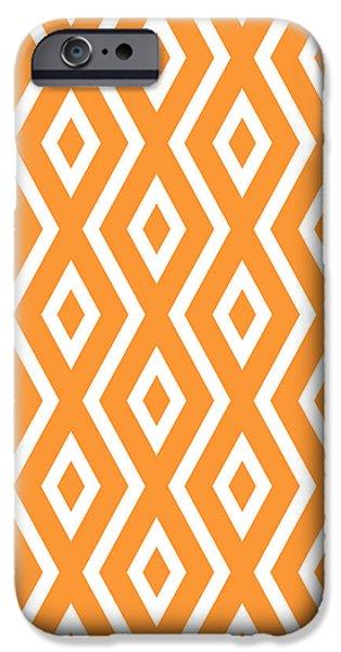 Orange Pattern IPhone 6s Case by Christina Rollo