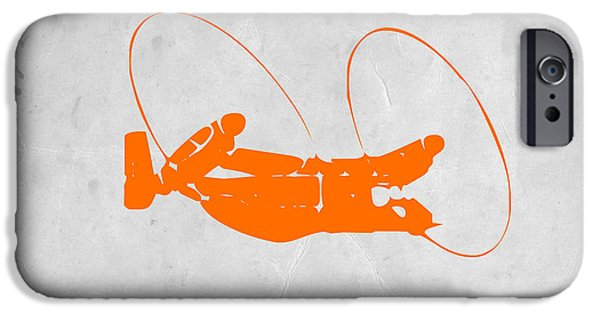 Orange Plane IPhone 6s Case