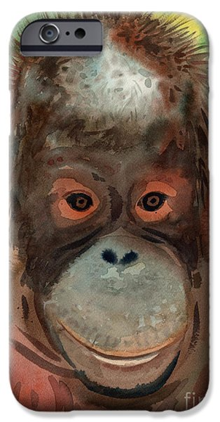 Orangutan IPhone 6s Case by Donald Maier