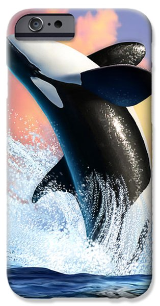 Orca 1 IPhone 6s Case by Jerry LoFaro