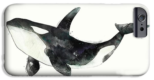 Orca From Arctic And Antarctic Chart IPhone 6s Case by Amy Hamilton