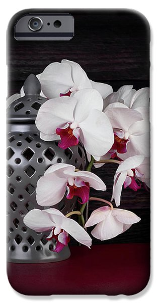 Orchids With Gray Ginger Jar IPhone 6s Case