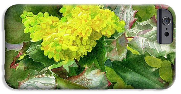 Oregon Grape Blossoms With Leaves IPhone 6s Case