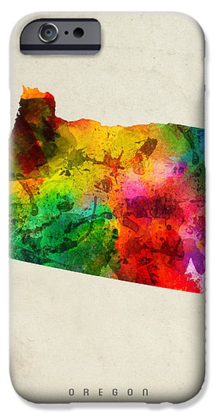 Oregon State Map 01 IPhone 6s Case