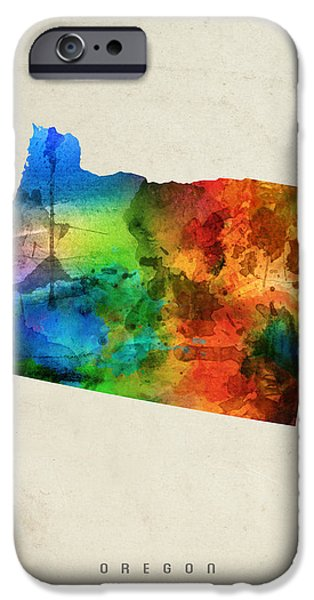 Oregon State Map 03 IPhone 6s Case
