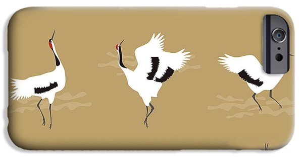 Oriental Cranes IPhone 6s Case