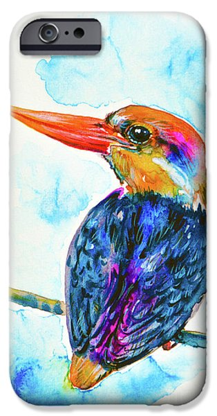Oriental Dwarf Kingfisher IPhone 6s Case by Zaira Dzhaubaeva