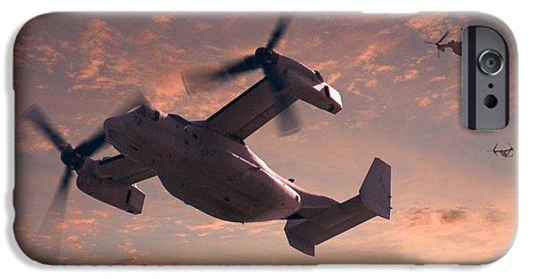Ospreys In Flight IPhone 6s Case by Mike McGlothlen