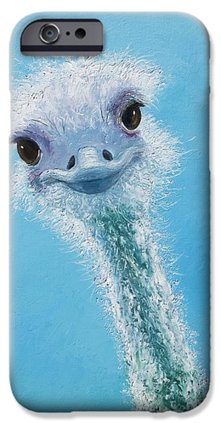 Ostrich Painting IPhone 6s Case