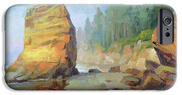 Otter iPhone 6s Case - Otter Rock Beach by Steve Henderson