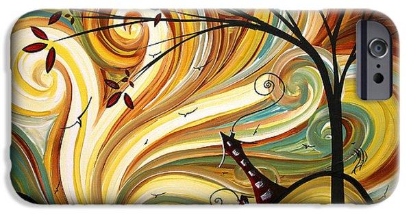 Surrealism iPhone 6s Case - Out West Original Madart Painting by Megan Duncanson