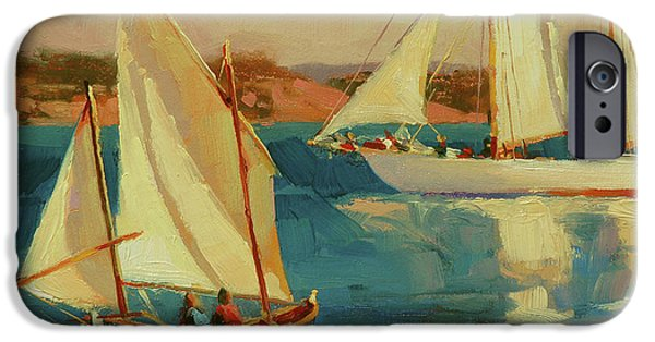Sailboat iPhone 6s Case - Outing by Steve Henderson
