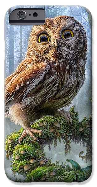 Owl Perch IPhone 6s Case by Phil Jaeger