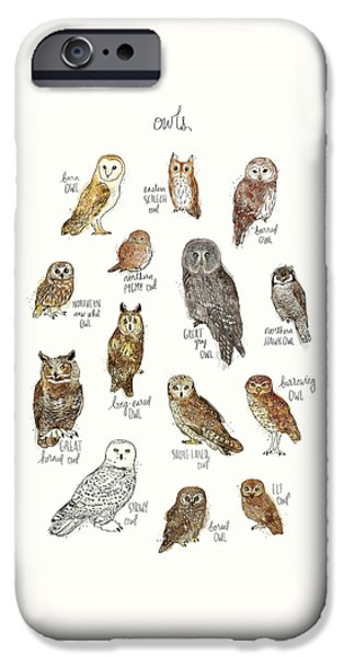 Owls IPhone 6s Case by Amy Hamilton