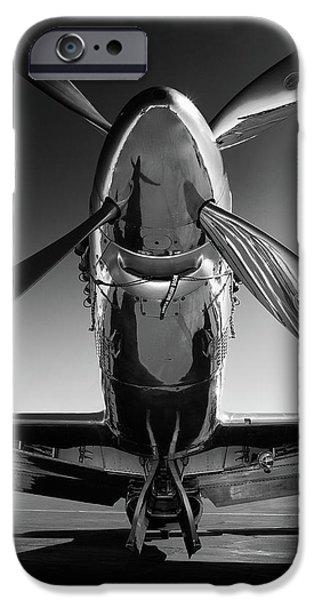 Airplane iPhone 6s Case - P-51 Mustang by John Hamlon