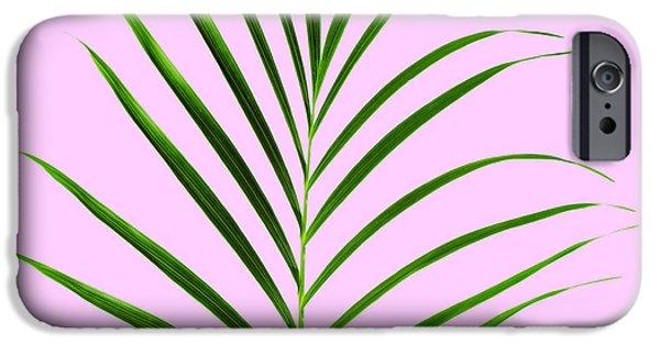 New Leaf iPhone 6s Case - Palm Leaf by Tony Cordoza