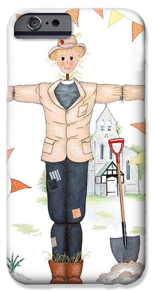 Parson Scarecrow IPhone 6s Case by Sandra Moore