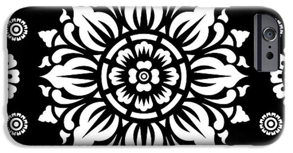 Pattern Art 01-1 IPhone 6s Case by Bobbi Freelance
