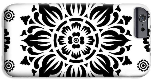 Pattern Art 01-2 IPhone 6s Case by Bobbi Freelance
