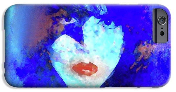 Def Leppard iPhone 6s Case - Paul Stanley Of Kiss - Portrait by Enki Art