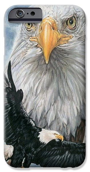 Color Pencil iPhone 6s Case - Peerless by Barbara Keith