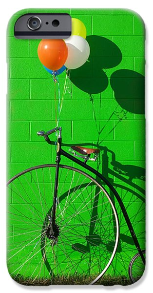 Bicycle iPhone 6s Case - Penny Farthing Bike by Garry Gay