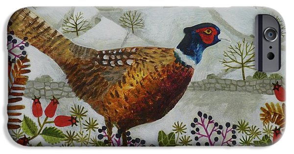 Pheasant And Snowy Hillside IPhone 6s Case