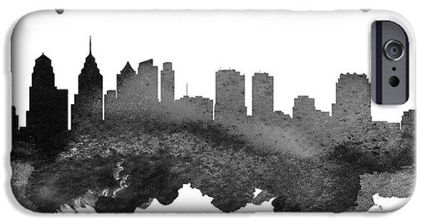 Philadelphia Pennsylvania Skyline 18 IPhone 6s Case by Aged Pixel