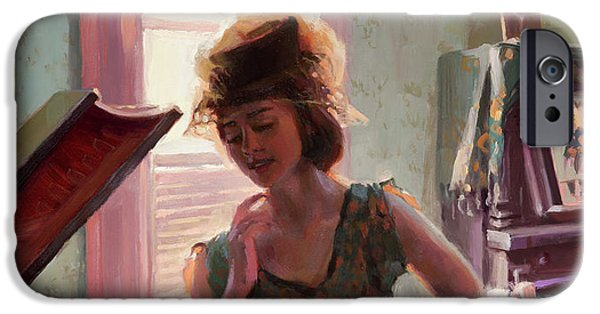 Ostrich iPhone 6s Case - Phonograph Days by Steve Henderson