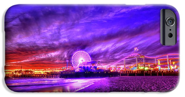 Santa Monica iPhone 6s Case - Pier Of Lights by Midori Chan