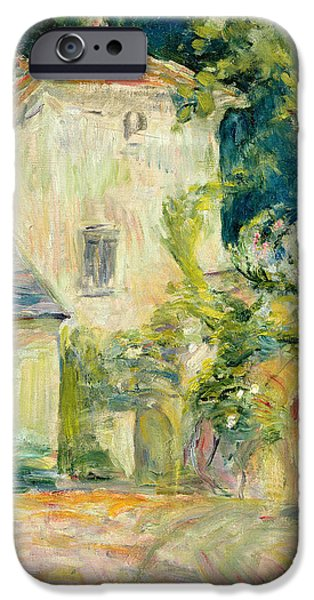 Pigeon iPhone 6s Case - Pigeon Loft At The Chateau Du Mesnil by Berthe Morisot