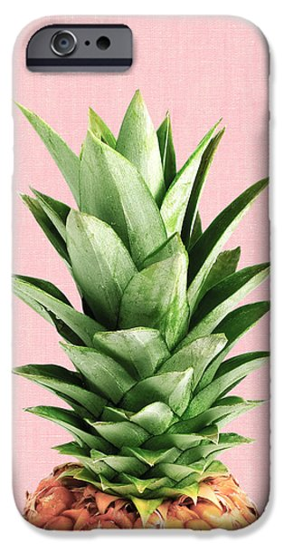 Pineapple And Pink IPhone 6s Case by Vitor Costa