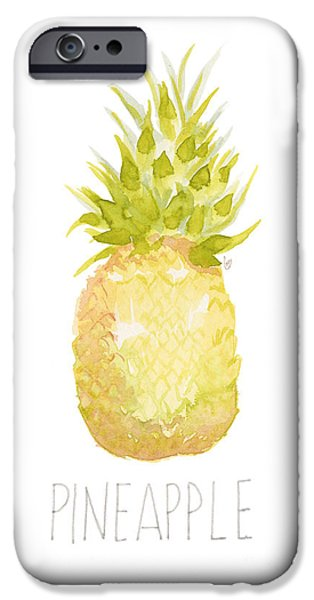 Pineapple IPhone 6s Case by Cindy Garber Iverson