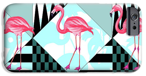 Ping Flamingo IPhone 6s Case by Mark Ashkenazi
