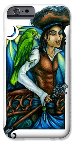 Pirate With Parrot Art IPhone 6s Case