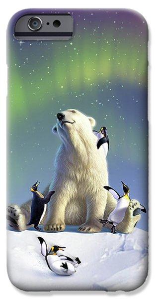 Polar Bear iPhone 6s Case - Polar Opposites by Jerry LoFaro