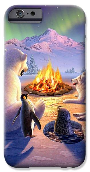Bear iPhone 6s Case - Polar Pals by Jerry LoFaro