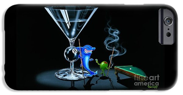 Pool Shark IPhone 6s Case by Michael Godard