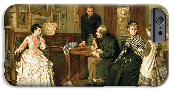 Swallow iPhone 6s Case - Poor Relations by George Goodwin Kilburne