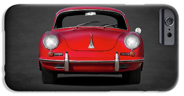 Car iPhone 6s Case - Porsche 356 by Mark Rogan