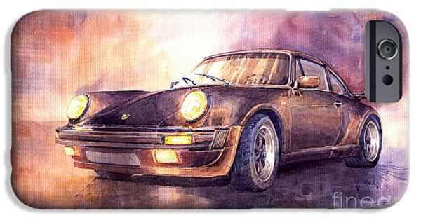 Car iPhone 6s Case - Porsche 911 Turbo 1979 by Yuriy Shevchuk