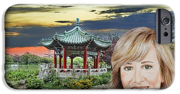 Portrait Of Jamie Colby By The Pagoda In Golden Gate Park IPhone 6s Case